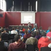 Charla Violencia Simbólica, Instituto Tierra Estella 2017