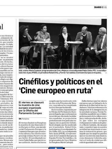 Cine Europeo en Rura. 2013