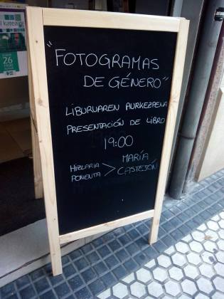Fotogramas de género en Casa de Mujeres de Donosto 2014