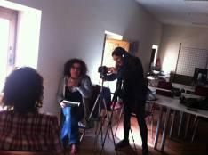 Grabación documental 'Ellas cuidan' Estella 2016