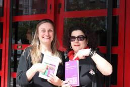 Con Barbara Zecchi. Muestra Cine y Mujeres 2014