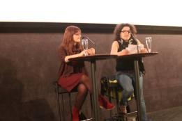 Con Ianire Estébanez. Muestra Cine y Mujeres 2013