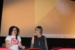 26 Muestra Cine y Mujeres de Pamplona. Con Elena San Julián 2012