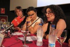 Presentacón libro digital 25 años de Cine. Muestra Cine y Mujeres. Con Elena San Julián y Laura Seara. 2011