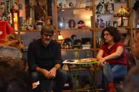 Librería de Mujeres de Madrid. Con Nacho Segarra ?Palomitas en los ojos' 2016