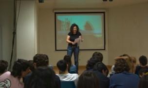 Talleres escolares sobre cine. 2009