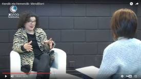 Entrevista con María Gurrea. Xaloa Televista. 2017